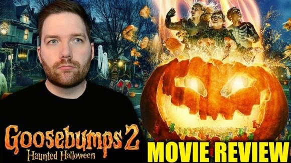 Chris Stuckmann - Goosebumps 2: haunted halloween - movie review