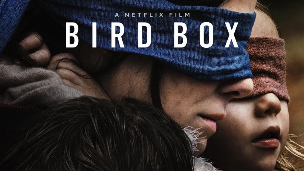 Griezelige trailer grootse Netflix-film 'Bird Box' met geblinddoekte Sandra Bullock!
