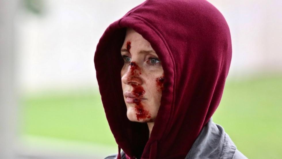 Eerste foto 'Eve' met bloederige Jessica Chastain