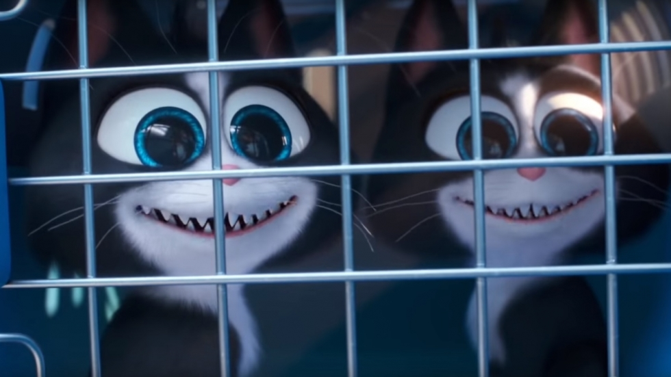 Psycho-huisdieren in trailer 'The Secret Life of Pets 2'!