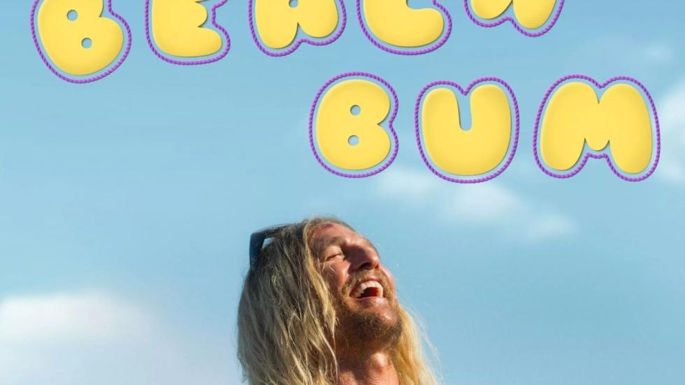 Poster stoner-film 'The Beach Bum'!