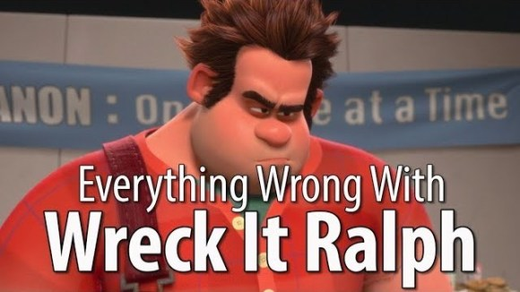 CinemaSins - Everything wrong with wreck-it ralph in 15 minutes or less