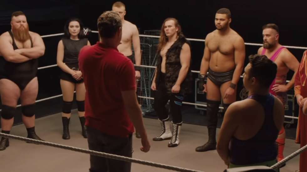 The Rock in trailer WWE-komedie 'Fighting with My Family'
