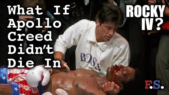 Channel Awesome - What if apollo creed didnt die in rocky iv - fanscription
