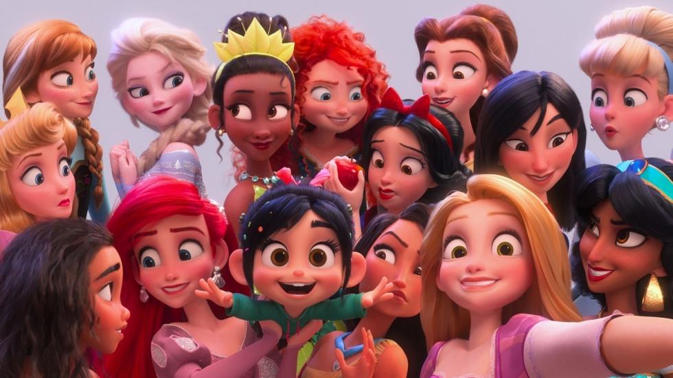 Alle Disney-prinsessen in 'Ralph Breaks the Internet' clip!