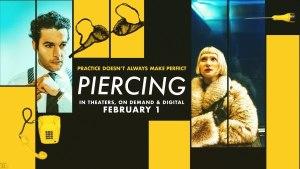 Piercing (2018) video/trailer