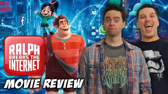 Schmoes Knows - Ralph breaks the internet movie review