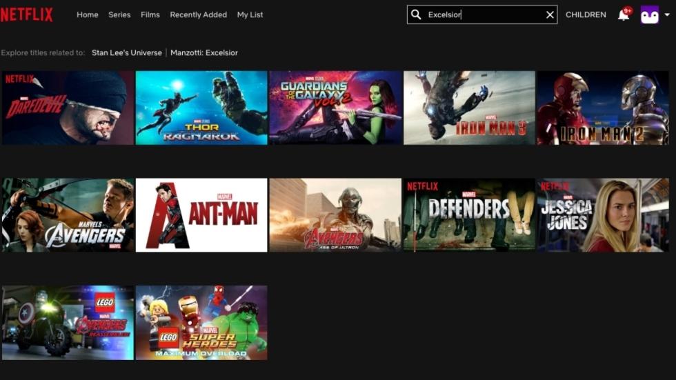 Netflix komt met mooie Stan Lee easter egg