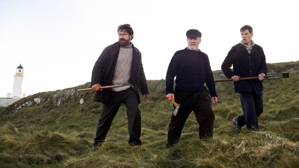 Gerard Butler als hebzuchtige vuurtorenwachter in trailer 'The Vanishing'