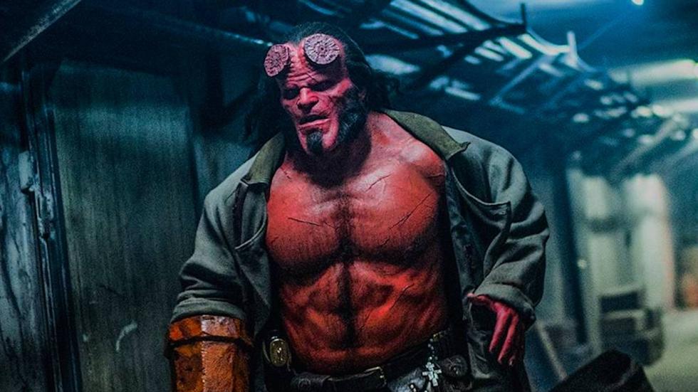 Nieuwe foto 'Hellboy' belooft meer geweld en bloed!