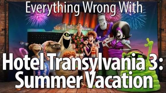 CinemaSins - Everything wrong with hotel transylvania 3: summer vacation