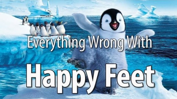 CinemaSins - Everything wrong with happy feet in 14 minutes or less
