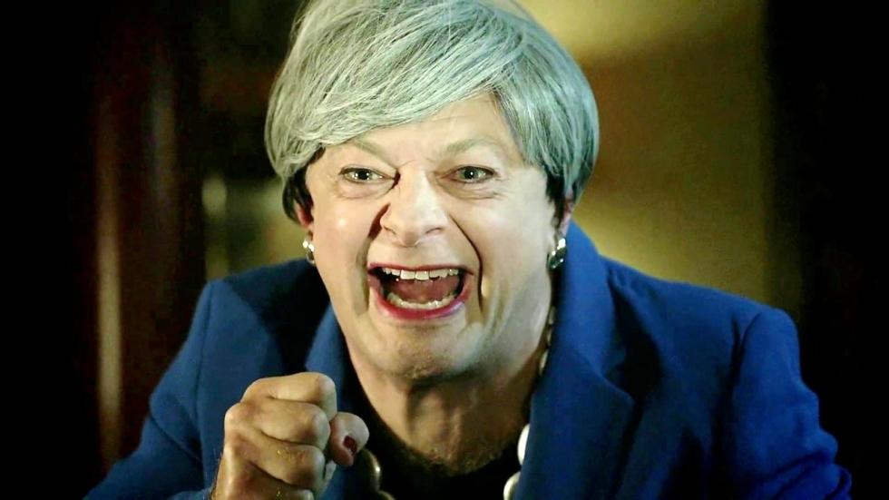 De terugkeer van 'Gollum' als Britse premier Theresa May