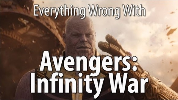 CinemaSins - Everything wrong with avengers: infinity war