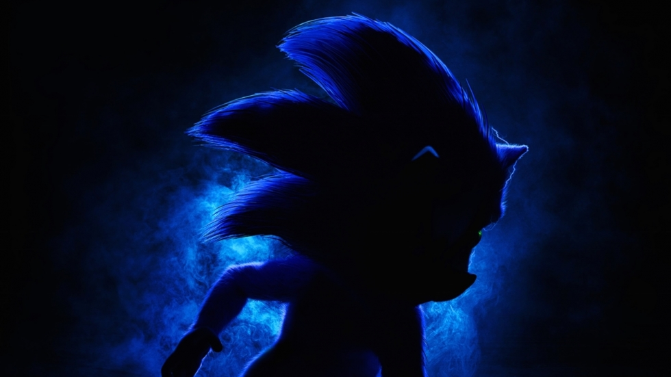Teaserposter 'Sonic the Hedgehog'!