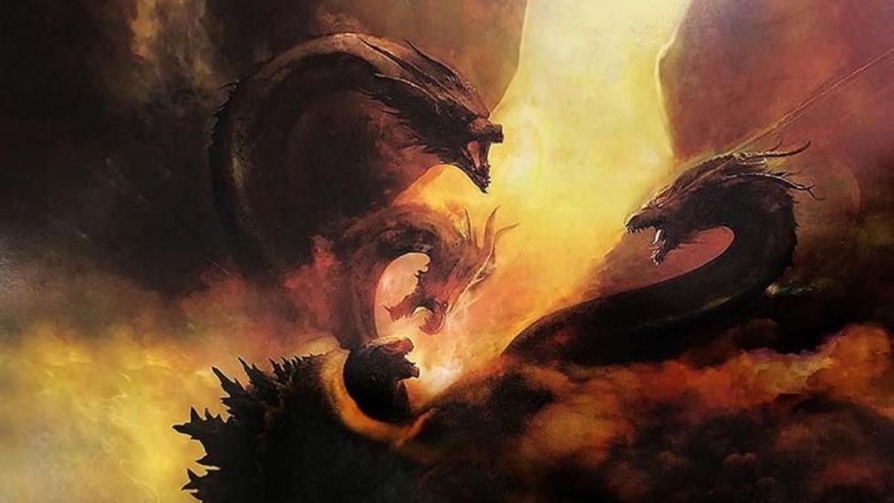 Drie posters bieden duidelijke blik op monsters 'Godzilla: King of the Monsters'