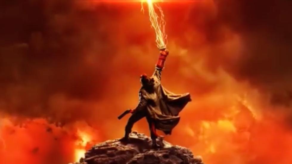 Gave posters 'Hellboy'; donderdag de trailer!