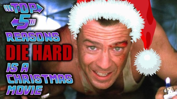 Channel Awesome - Top 5 reasons die hard is a christmas movie