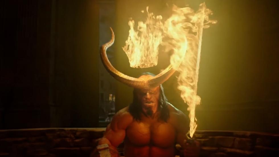 Stevige eerste trailer 'Hellboy'!