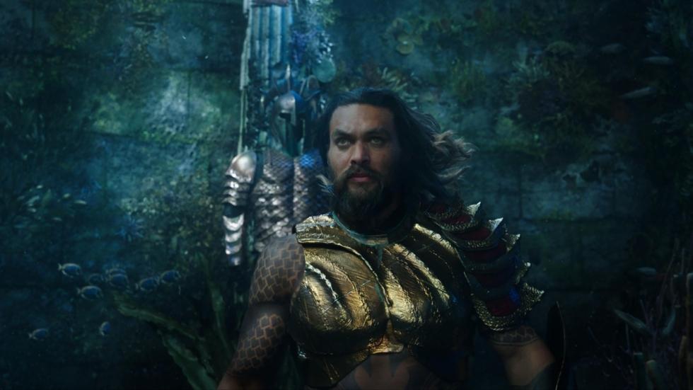 Die ene absurde scène die te ver ging voor 'Aquaman'