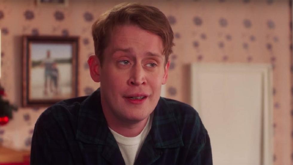 Lachen: Macaulay Culkin is weer 'Home Alone'