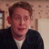 Griezelig! Macaulay Culkin met 'Home Alone'-mondmasker!