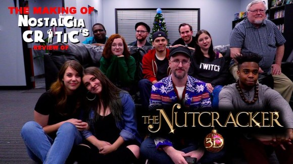 Channel Awesome - The nutcracker in 3d - making of nostalgia critic