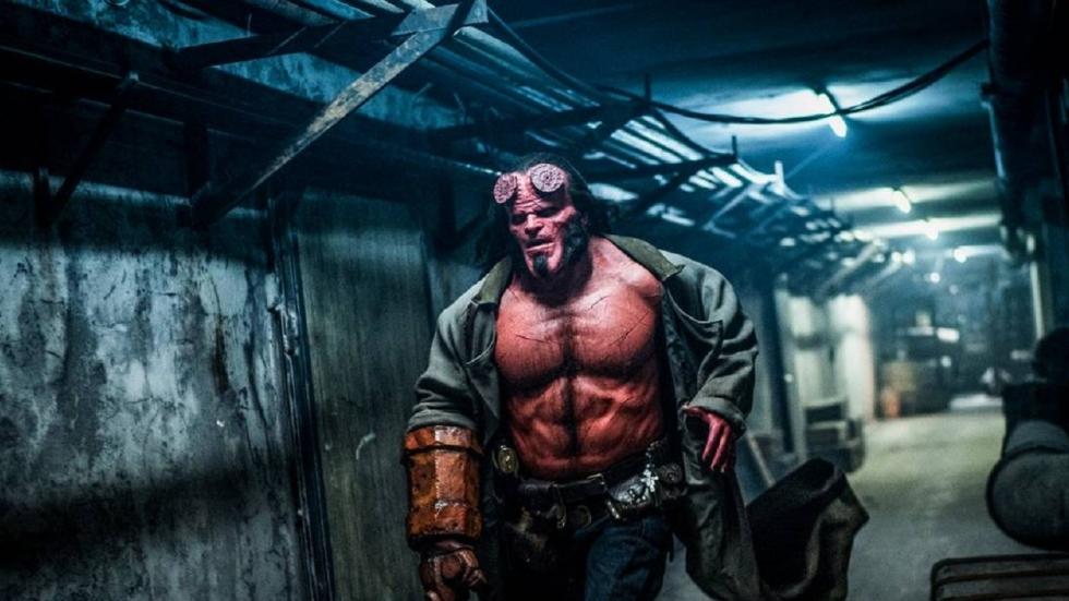 Koppen gaan rollen in bloederige 'Hellboy'
