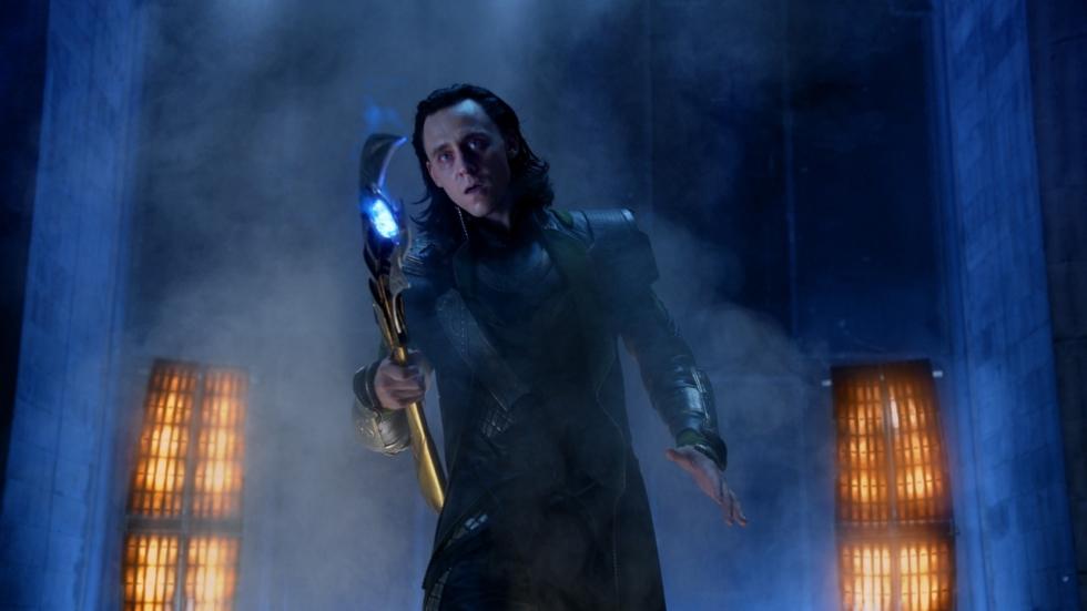 Loki onder invloed in 'The Avengers'