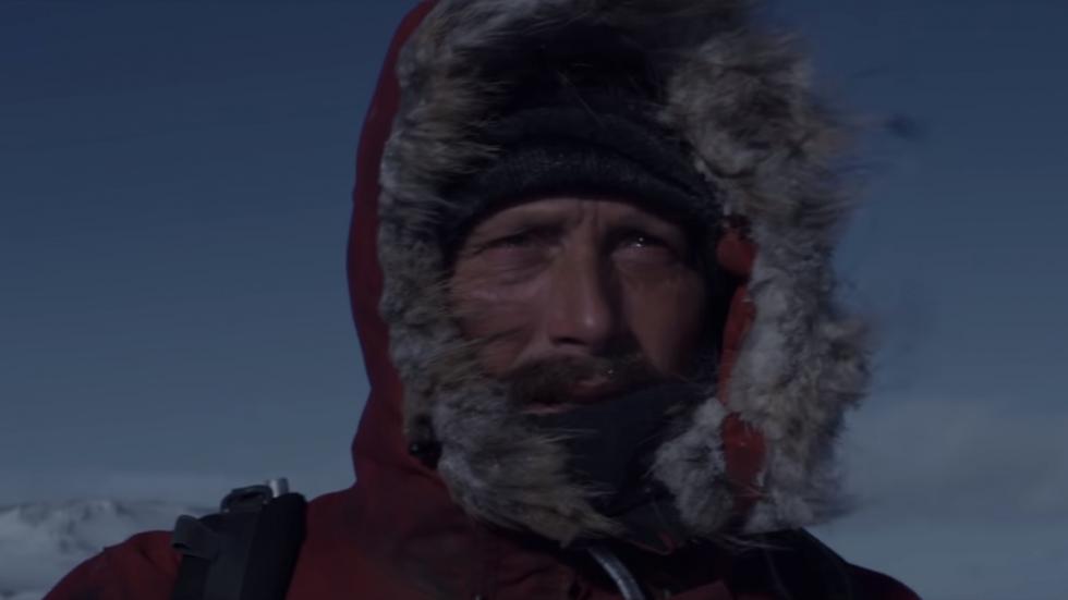 IJzige trailer 'Arctic' zet Mads Mikkelsen voor helse opgave