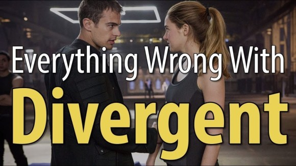 CinemaSins - Everything wrong with divergent in 16 minutes or less