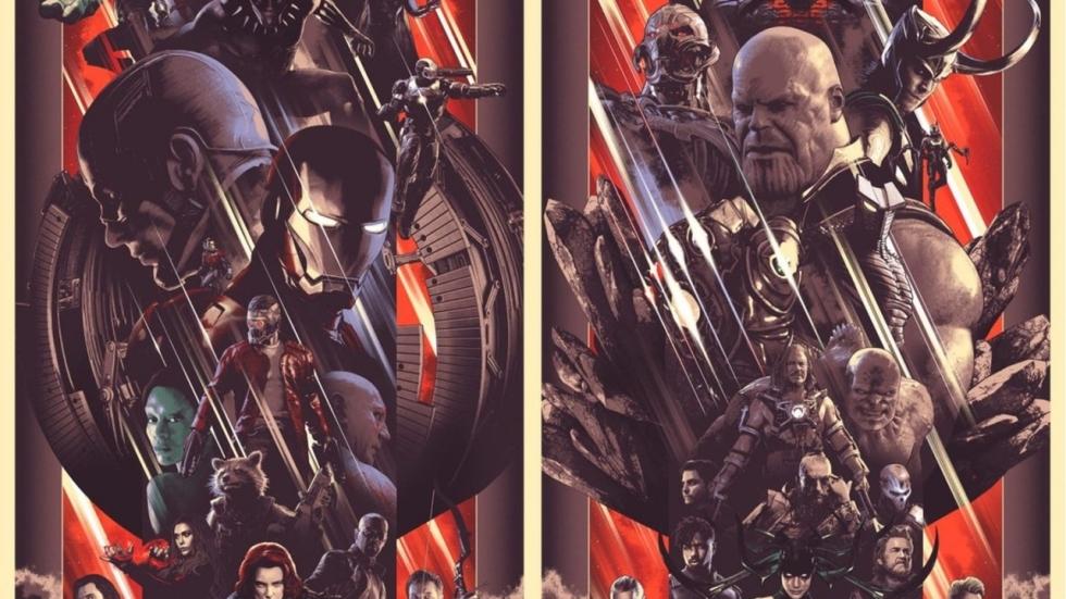 Alle helden en slechteriken op 'Marvel Stud10s'-posters