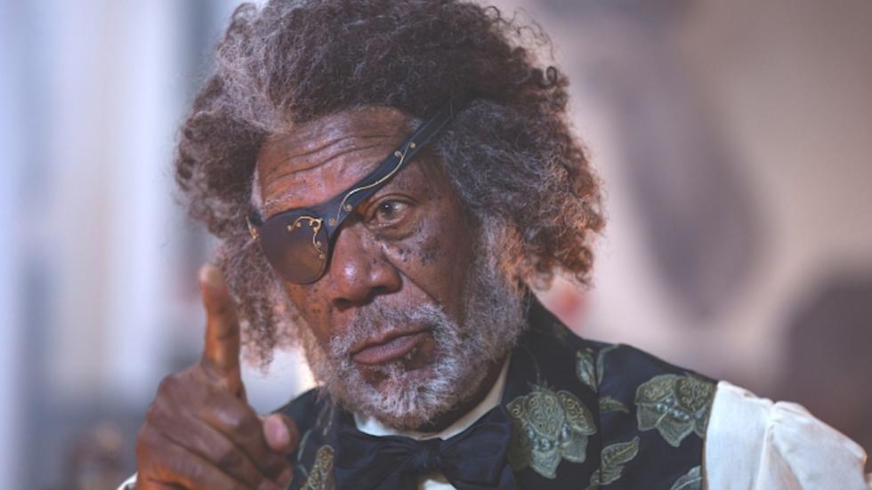 'Morgan Freeman krijgt schuld van moord kleindochter'
