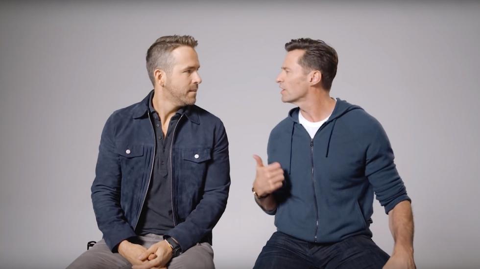 'Ruzie Ryan Reynolds en Hugh Jackman bereikt hoogtepunt'