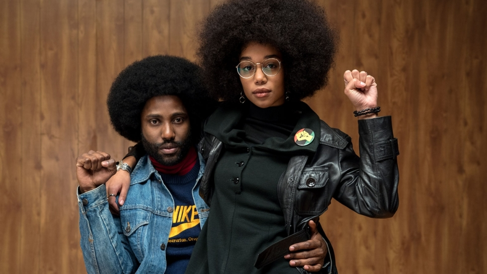 Blu-ray review 'BlacKkKlansman' met 2 x Ron Stallworth