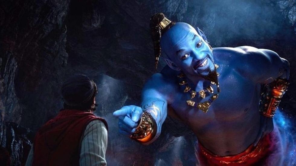Grappige reacties op Will Smiths blauwe Genie in trailer 'Aladdin'