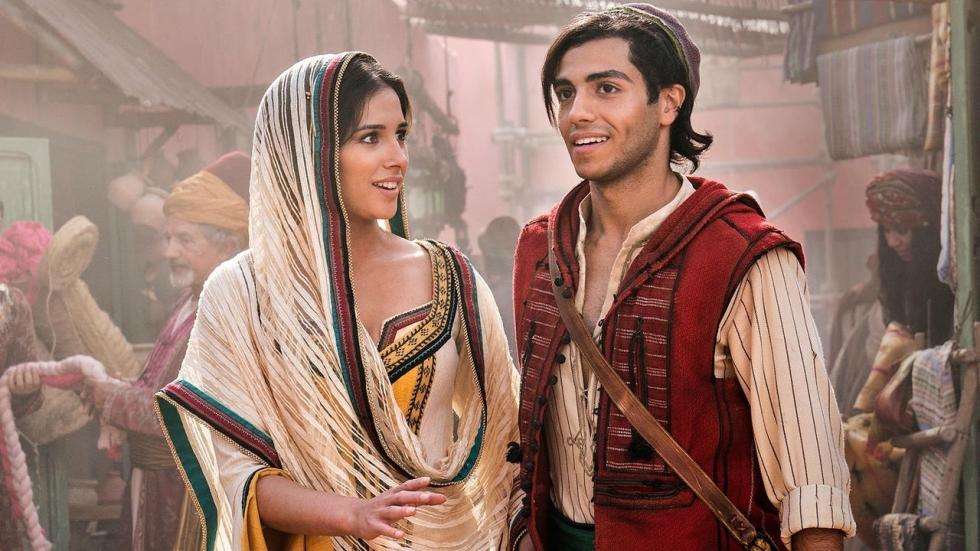 Nieuw beeld toont ontmoeting Aladdin en Jasmine