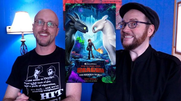 Channel Awesome - How to train your dragon: the hidden world - sibling rivalry