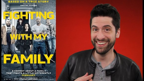 Jeremy Jahns - Fighting with my family - movie review