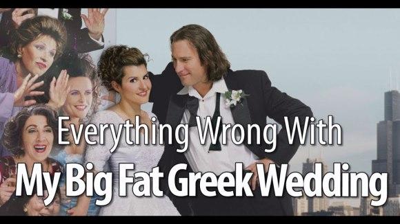 CinemaSins - Everything wrong with  my big fat greek wedding