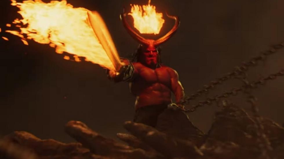 Keiharde en bloederige trailer 'Hellboy'!