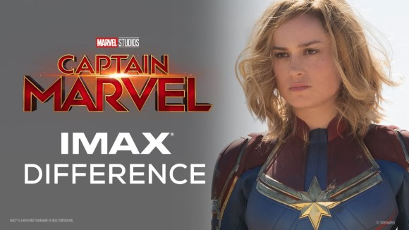 Captain Marvel: The IMAX Difference