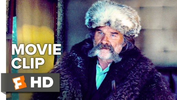 THE HATEFUL EIGHT Movie Clip - You All Saved Me