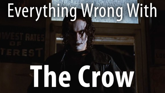 CinemaSins - Everything wrong with the crow in 15 minutes or less