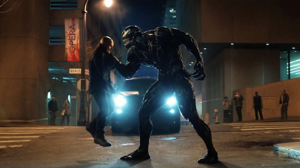 Blu-ray review 'Venom' met Tom Hardy als (zwarte) freak
