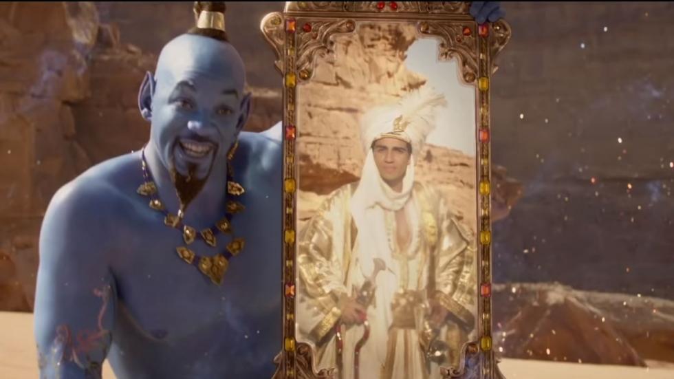 Kleurrijke poster 'Aladdin' en stem Iago gevonden!