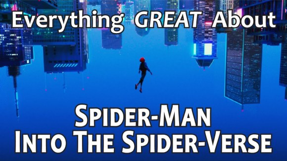 CinemaWins - Everything great about spider-man: into the spider-verse!