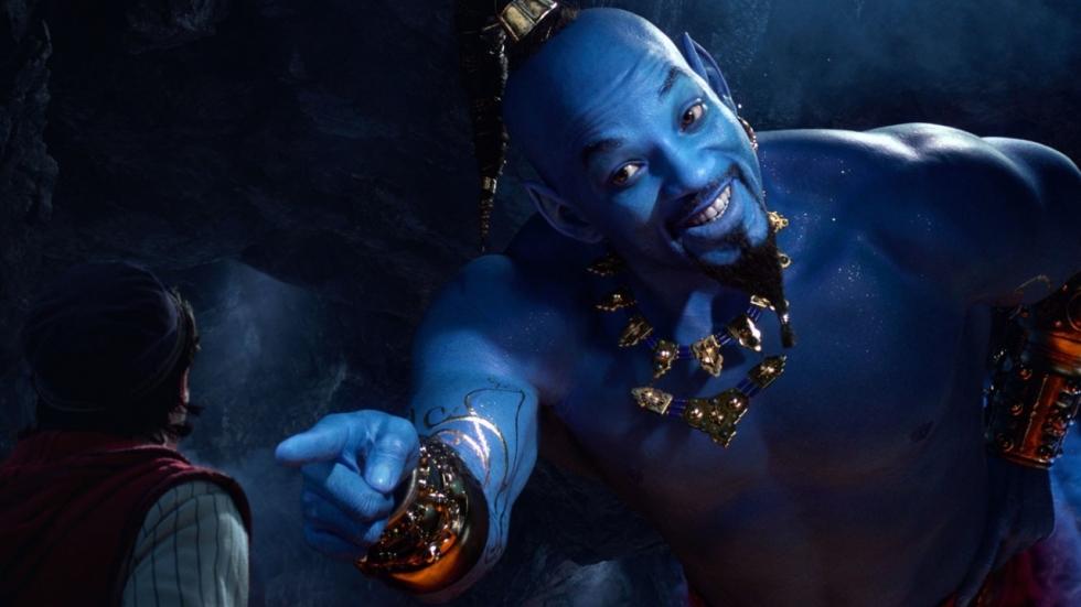 Fraaie posters voor Aladdin, Genie, Jafar en Jasmine voor Walt Disney's 'Aladdin'