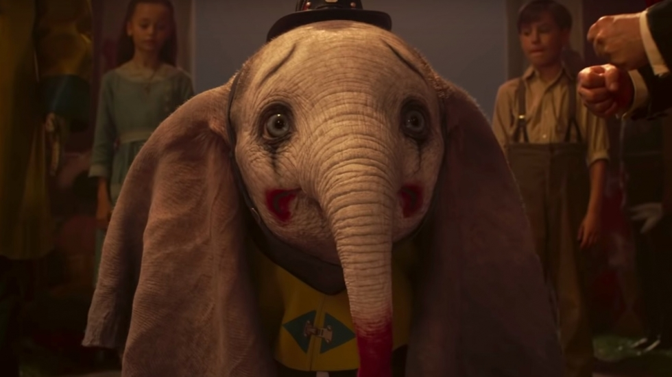 Disney's 'Dumbo' is dubbelgangers in 'Us' te slim af