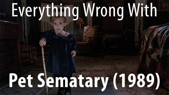 CinemaSins - Everything wrong with pet sematary (1989)